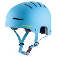 Casque De Glisse - Trottinette - Skate - Patin A Roulette Casque de skateboard - Mixte - Bleu - M