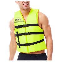 Casque De Protection Wakeboard - Casque De Protection Kayak - Casque De Protection Kite Surf - Casque De Protection Ski Nautique JOBE Gilet de flottaison Universal - Vert citron