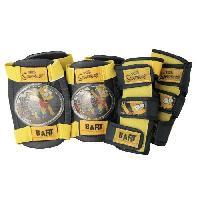 Casque De Velo BART SIMPSONS Protections coudieres + genouilleres Bart