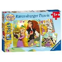 Casse-tete RAIPONCE Puzzle 3x49 pcs Grande Chevelure - Ravensburger