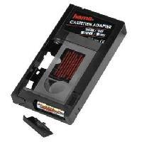 Cassette Vhs HAMA 44704 Cassette adaptatrice VHSC - VHS - Gris