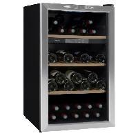Cave A Vin CLIMADIFF CLS50  - Cave a vin de service - 52 bouteilles - Pose libre - Classe B - L 49.5 x H 84.8 cm