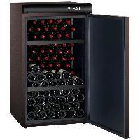Cave A Vin CLIMADIFF CLV122M - Cave a vin de vieillissement - 120 bouteilles - Classe A