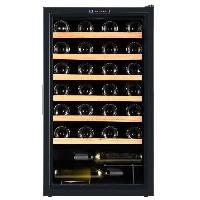 Cave A Vin LA SOMMELIERE CVD50 - Cave a vin de service - 48 bouteilles - Pose libre - Classe B - L 60 x H 86.4 cm