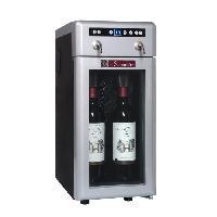 Cave A Vin LA SOMMELIERE DVV22 - Distributeur de vin au verre - 2 Bouteilles - L 23.5 x P 35 x H 52.5 cm
