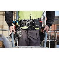 Ceinture Porte-outils - Bandeau Porte-outils - Poche - Etui - Trousse - Besace Kit ceinture a outils avec 4 elements - securite praticite pro - CKM305377
