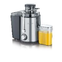 Centrifugeuse De Cuisine Centrifugeuse - 400W - 500ml - Inox brosse - Noir
