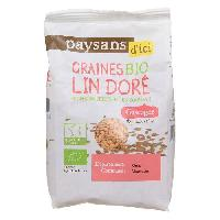 Cereales - Melanges Graines de lin dore Bio - 250g