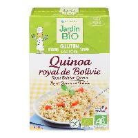 Cereales - Melanges JARDIN BIO Quinoa royal de Bolivie bio - 400 g