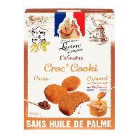 Cereales - Melanges LUCIEN GEORGELIN Cereales Croc'Cooki au Caramel Beurre Sale de Guerande - 375 g