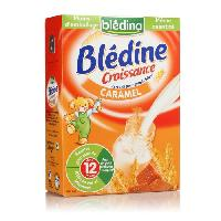 Cereales Bebe BLEDINA Blédine Croissance Caramel - 500 g - Des 12 mois