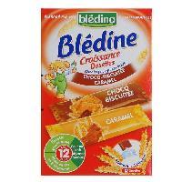 Cereales Bebe BLEDINA Blédine Croissance Dosettes Choco bscuité et caramel - 240 g - Des 12 mois