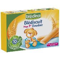 Cereales Bebe BLEDINA Blédiscuit Mon 1er boudoir - 120 g - Des 10 mois
