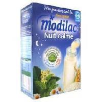 Cereales Bebe MODILAC Les premieres céréales de mon bébé Nuit calme - 300 g - Des 4/6 mois - Modillac