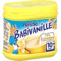 Cereales Bebe NESTLÉ Babivanille - 400 g - Des 10 mois - Nestle