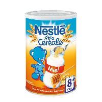 Cereales Bebe NESTLÉ P'tite Céréale Miel - 400 g - Des 8 mois - Nestle