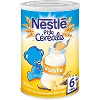Cereales Bebe NESTLÉ P'tite Céréale Vanille - 400 g - Des 6 mois - Nestle