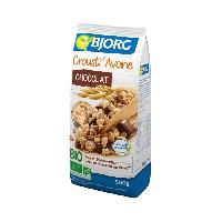 Cereales Petit Dejeuner BJORG Croustillants Avoine Chocolat Bio 500g