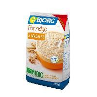 Cereales Petit Dejeuner BJORG Porridge 3 Céréales Bio 375g