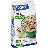 Cereales Petit Dejeuner Bjorg Muesli aux Fruits 750g - Aucune