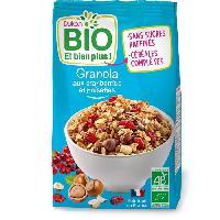 Cereales Petit Dejeuner DUKAN Granola bio aux cranberries et noisettes - 350 g