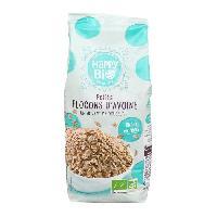 Cereales Petit Dejeuner HAPPY BIO Petit flocons d'avoine bio - 500 g - Generique