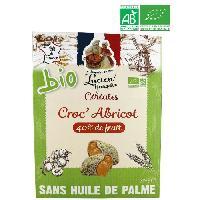 Cereales Petit Dejeuner LUCIEN GEORGELIN Céréales Croc' Abricot bio - 375 g