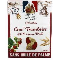Cereales Petit Dejeuner LUCIEN GEORGELIN Céréales Croc' Framboise - 375 g