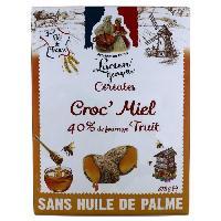 Cereales Petit Dejeuner LUCIEN GEORGELIN Céréales Croc' Miel - 375 g