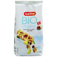 Cereales Petit Dejeuner Muesli croquant Bio Fruits Noix 375G FAMILIA - Eric Bur