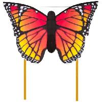 Cerf-volant HQ Cerfs-Volants Monofils Butterfly Monarch Multicolore L