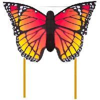Cerf-volant HQ Cerfs-Volants Monofils Butterfly Monarch Multicolore L - Generique