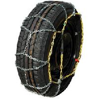 Chaine Neige - Chaussette Chaines neige 9mm pour pneu 13-14POUCES - SYNCHRO 40