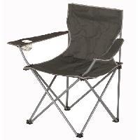 Chaise - Fauteuil De Camping Chaise de camping pliable - 50 x 50 x 80 cm - Gris - Aucune