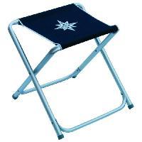 Chaise - Fauteuil De Camping EUROMARINE Tabouret Pliant  Bleu