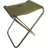 Chaise - Fauteuil De Camping HIGHLANDER Tabouret de Peche Vert - Generique