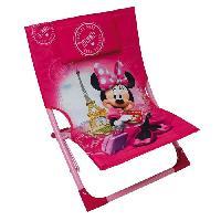 Chaise - Tabouret Bebe Fun House Disney Minnie chaise de plage pour enfant