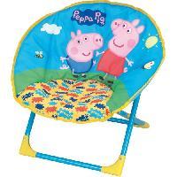 Chaise - Tabouret Bebe Fun House Peppa Pig siege lune pliable pour enfant