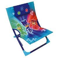 Chaise - Tabouret Bebe Fun House Pyjamasques chaise de plage pour enfant