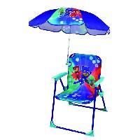 Chaise - Tabouret Bebe Fun House Pyjamasques chaise pliable avec parasol pour enfant