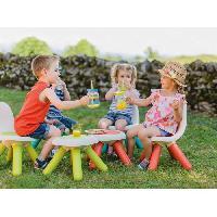 Chaise - Tabouret Bebe SMOBY - Kid Tabouret Interieur - Exterieur Vert