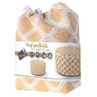 Chaise De Jardin - Fauteuil - Tabouret - Canape Pouf gonflable Gerone - Orange nude