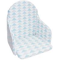 Chaise Haute - Coussin Chaise Haute - Plateau Chaise BABYCALIN Coussin de chaise Geometriques - 28 x 38 cm