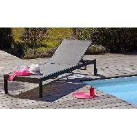 Chaise Longue - Transat - Bain De Soleil Bain de soleil alu textilene