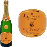 Champagne - Petillant - Mousseux Ackerman Saumur J-Baptiste Blanc Brut 2014 75cl
