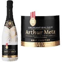 Champagne - Petillant - Mousseux Arthur Metz Crémant d'Alsace Brut Prestige