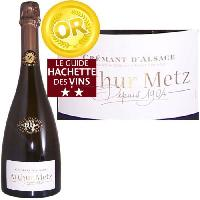 Champagne - Petillant - Mousseux Arthur Metz Cuvée 1904 - Crémant d'Alsace