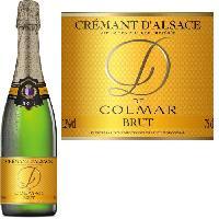 Champagne - Petillant - Mousseux Arthur Metz D de Colmar Crémant d'Alsace Blanc - 75 cl
