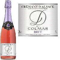 Champagne - Petillant - Mousseux Arthur Metz D de Colmar Rosé Crémant d'Alsace x1
