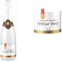 Champagne - Petillant - Mousseux Arthur Metz ICE Crémant d'Alsace Demi-Sec